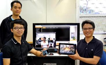 NTU scientist invents pocket living room TV